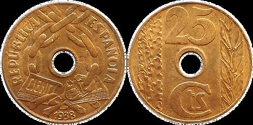 25 CTS. 1938. EBC+