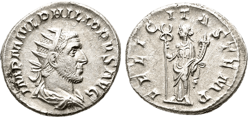 FILIPO I. Antoniniano. EBC-/EBC. RIC 31