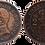 Thumbnail: 2 CTS. 1912. (*12).  EBC-