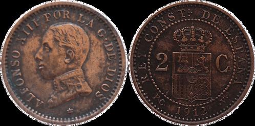 2 CTS. 1912. (*12).  EBC-