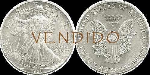 ESTADOS UNIDOS, 1 DÓLAR. 1991. (PROOF)