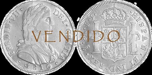 1810_SANTIAGO.FJ. 8 Reales. MBC