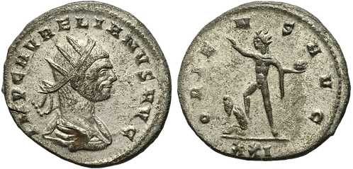 AURELIANO. Antoniniano. EBC. RIC 360