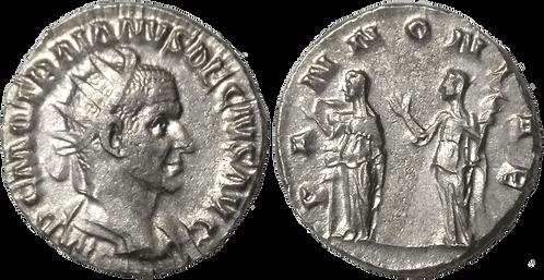 TRAJANO DECIO. Antoniniano. EBC. RIC 23