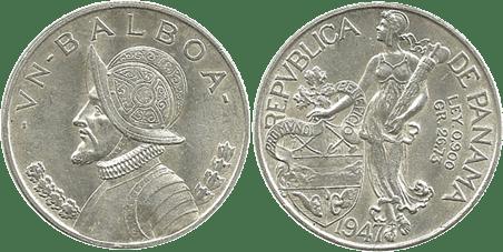 PANAMÁ, 1 BALBOA. 1947. (SC-)