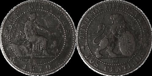 2 CTS. 1870. BARCELONA. MBC-