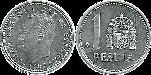 1 PESETA, 1987. SC