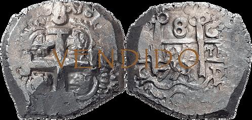1753_POTOSI, c. 8 Reales. MBC+