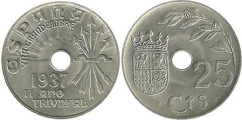 25 CTS. 1937. (SC)