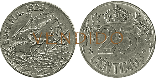 25 CTS. 1925. PCS. MBC-