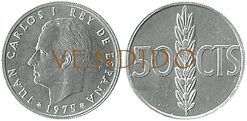 50 CÉNTIMOS, 1975 (*19, *76). SC