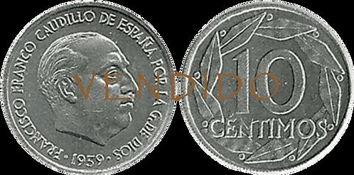 10 CTS. 1959. (SC)