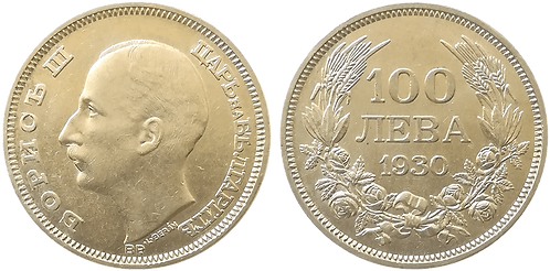 BULGARIA, 100 LEVA, 1930 (SC)