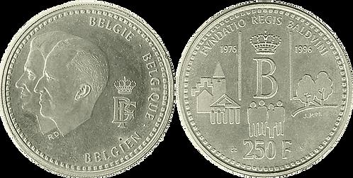 BÉLGICA, 250 FRANCOS,1996  (PROOF)