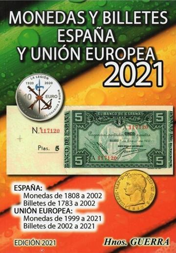 Catálogo de Monedas y Billetes Españolas 2021
