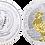 Thumbnail: RUANDA, 50 FRANCOS. 2017. Partial Gold Plated. PROOF