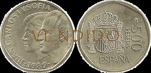 500 PESETAS, 1989. (SC)