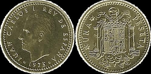 1 PESETA, 1975 (*19, *79). SC