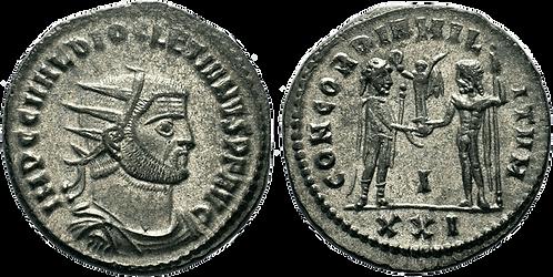 DIOCLECIANO. AE. Aureliano. EBC. RIC 322