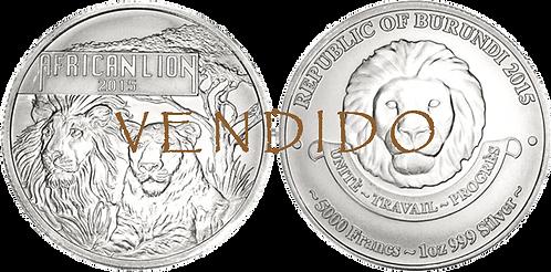 BURUNDI (República de), 5000 FRANCOS. 2015. (SC)