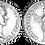Thumbnail: DOMICIANO. Denario. EBC/EBC-. RIC 580