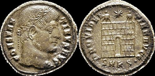 CONSTANTINO I. AE3. MBC+. RIC Cyzicus 55