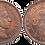 Thumbnail: 2 CTS. 1904. (*04).  EBC+