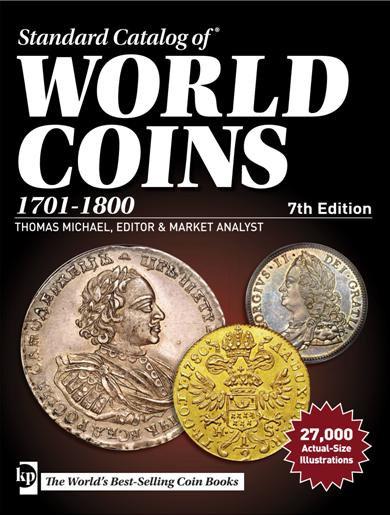 Catálogo Krause World Coins 1701-1800. 7th Edition.