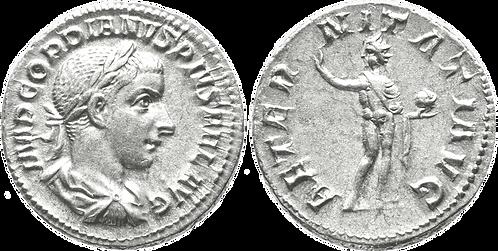 GORDIANO III. Denario. EBC. RIC 111