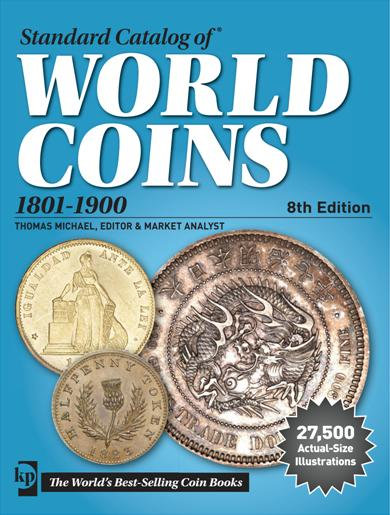 Catálogo Krause World Coins 1801-1900. 8th Edition.
