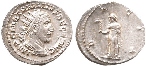 TRAJANO DECIO. Antoniniano. SC-/EBC. RIC 12