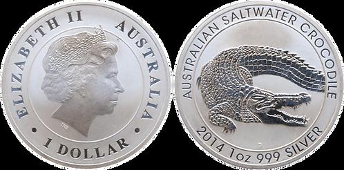 AUSTRALIA, 1 DÓLAR, 2014. (PROOF)