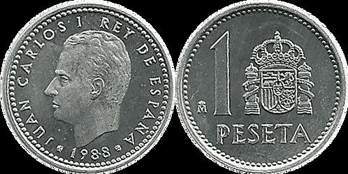 1 PESETA, 1988. SC