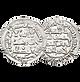 Moneda Hispano-árabe. Diraham emirato y califato. Dirham almohade.