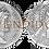 Thumbnail: ADRIANO. Denario. EBC-. RIC 282d