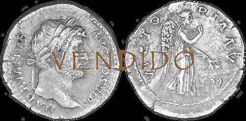 ADRIANO. Denario. EBC-. RIC 282d