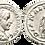 Thumbnail: GORDIANO III. Denario. SC-. RIC 127