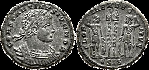 CONSTANTINO II. AE3. EBC. RIC Siscia 220