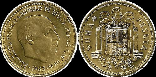 1 PESETA, 1963 (*65). SC