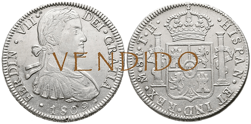 1809_MEJICO.TH. 8 Reales. EBC-