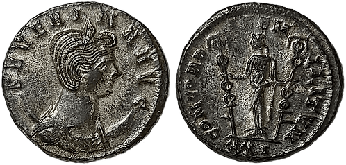 SEVERINA. Antoniniano. EBC-. RIC 18