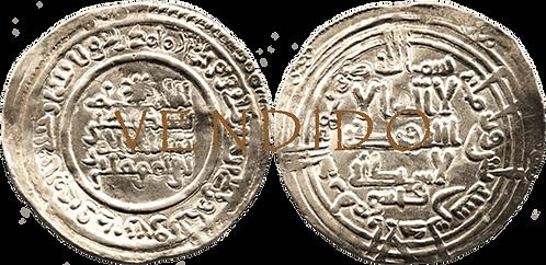 ABDERRAHMAN III. DIRHAM. 330 H. EBC+