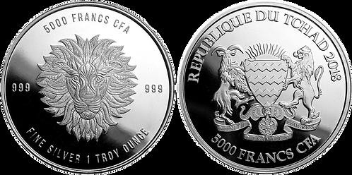 CHAD (República de), 5000 FRANCOS CFA. 2018. (PROOF)