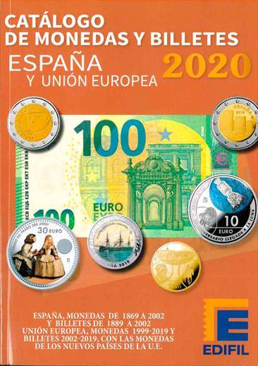 Catálogo de Monedas y Billetes Españolas 2020