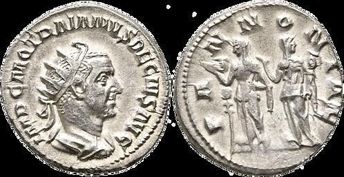 TRAJANO DECIO. Antoniniano. SC-/EBC+. RIC 21b