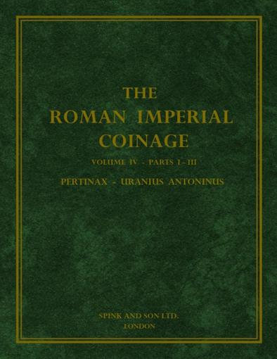 Roman Imperial Coinage Vol. IV