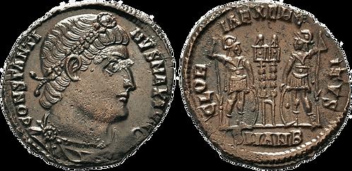CONSTANTINO I. AE3. EBC-. RIC VII Antioch 86