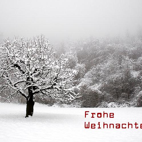 Weihnachtskarte Nr. 09 de