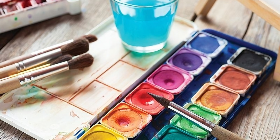 WaterColor session | جلسة الألوان المائية