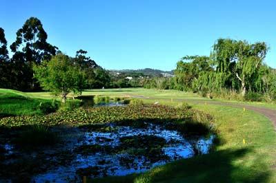 Knysna Golf Club Hole 9